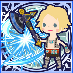 FFAB Axe & Shield - Vaan Legend SSR+