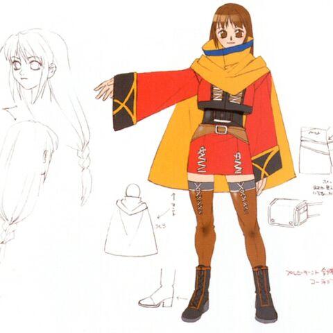 Concept art of Cornelia.