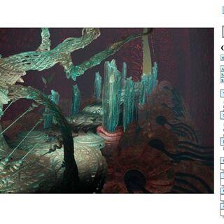 CG art of <i>Final Fantasy IX</i> backgrounds by Behrooz Roozbeh.