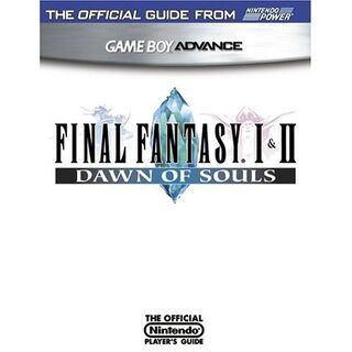 <i>Final Fantasy I &amp; II: Dawn of Souls</i> cover.