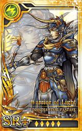 DFF Warrior of Light SR+ L Artniks