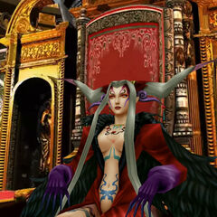 Ultimecia on her throne in <i><a href=