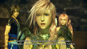 Lightning with Serah&Noel