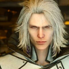 A close up shot of Ravus.