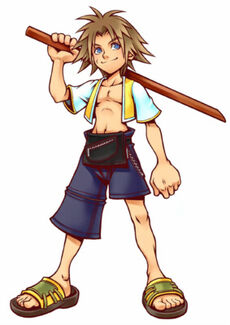 Tidus trong Kingdom Hearts