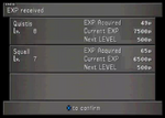 Battle results ffviii