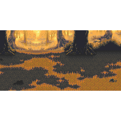 Battle background for a forest in the [[World of Ruin (Final Fantasy VI)|]] in <i><a href=