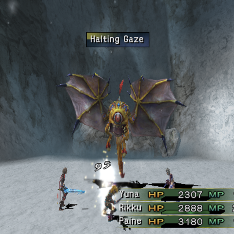 Halting Gaze.