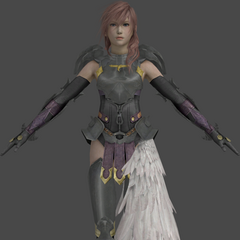 Lightning's in-game model.
