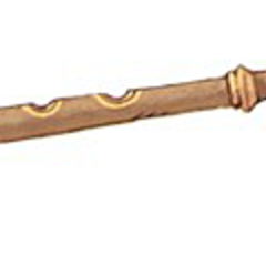 Concept artwork for the Golem's Flute.