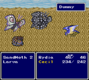 FFIV SNES Dummied Cockatrice