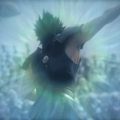<i>Final Fantasy VII: Advent Children Complete</i> flashback.