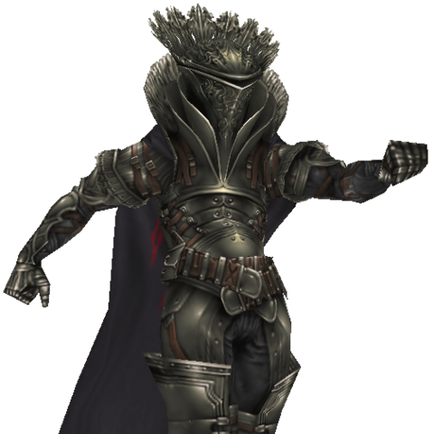 Battle model without his weapons.