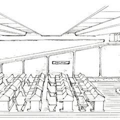 Class room concept art.