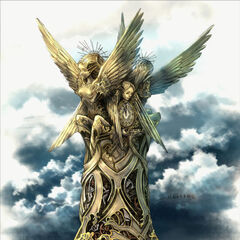 Statue concept art.