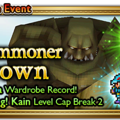 Global event banner for A Summoner Grown.
