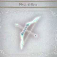 Mythril Bow in <i>Bravely Default</i>.