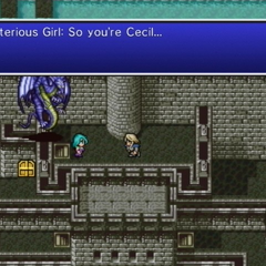 Mysterious Girl surprising Cecil by knowing his name