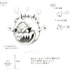 <i>Final Fantasy VII</i> Tetsuya Nomura artwork.