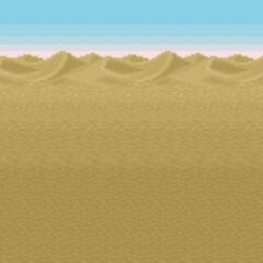 Battle background (Desert) (SNES).