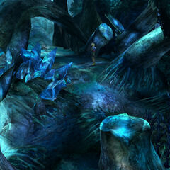 Macalania Woods in <i>Final Fantasy X</i>.