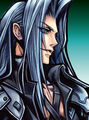 Sephiroth Dissidia artwork