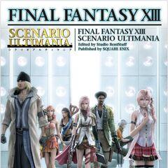 Scenario Ultimania cover.