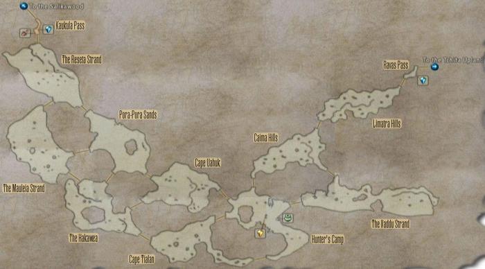 FF12 Map - Phon Coast
