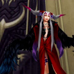 Ultimecia in <i>Dissidia Final Fantasy</i>.