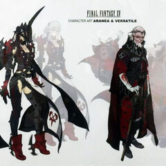 Aranea Highwind and Verstael.