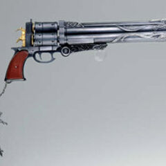 Cerberus <i>Final Fantasy</i> Master Arms gun.
