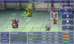 FFV iOS Pond's Chorus