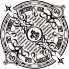 Ifrit's seal.