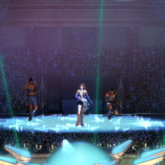Yuna? finishing her performance (HD Remaster).