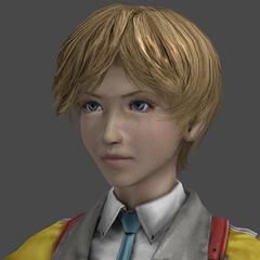 Alyssa's in-game model.