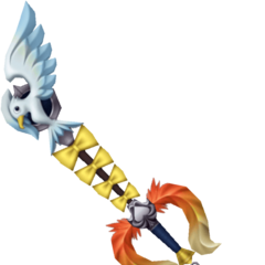 The Gullwing Keyblade.