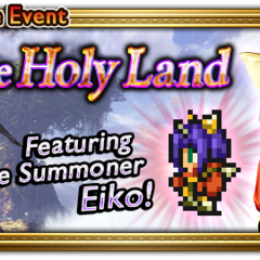 Global event banner for To the Holy Land.