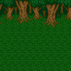 Battle background (Forest) (SNES).