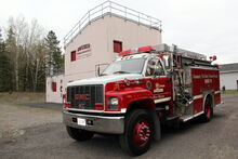 Aweres Burn Building and Fire Engine