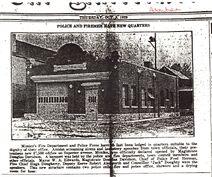 Mimico Fire Hall - Advertiser - October 2, 1929