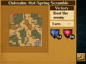 Hot-Spring Scramble Map