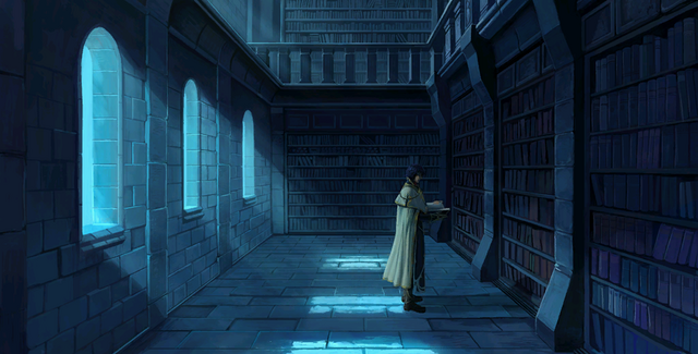 File:Pelleas in library.png