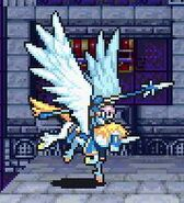 Florina as a Falcoknight