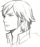 Chrom Face Concept Art 1