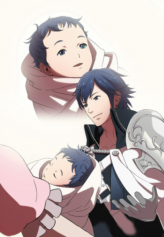 File:Chrom and Baby Lucina.png
