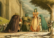 Elincia and retainers