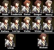 Inigo Hair Collage