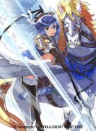 Catria artwork Cipher TCG