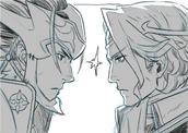 Ryoma and Xander