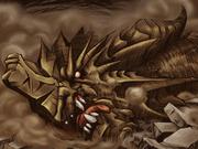 Fallen earth dragon